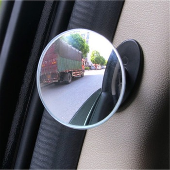 Car Blind Spot Mirror Multi-function Door Side Mirror 360 degree Rotation In-Car Safety Mirror Wide Angle Rear View Mirror fold car silver bonnet rear mirror exterior hoods covers blind wide angle rear side mirror rear glass for all cars universal
