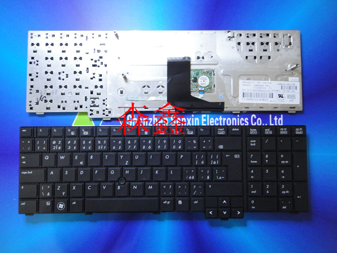 New notebook Laptop keyboard for HP 8740 8740W 8740P UK layout new for hp mini 1103 1104 uk english version black laptop built in keyboard