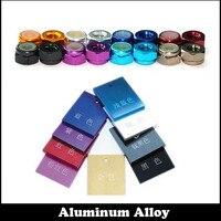 3pcs M3 Orange Colorful Nylon Gasket Anodic Oxidation AL Aluminum Alloy Waterproof Lock Nut