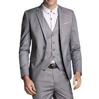 Blazers + Pants + Vest New Fashion 2016 Men Business Suits / Man's Suit Three piece Sets / Jacket Suit Coat Trousers Waistcoat
