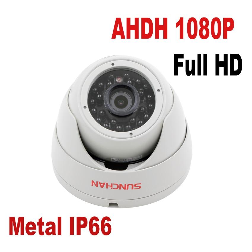 SUNCHAN 1 3 Color CMOS Sensor AHDH 1080P AHD font b Camera b font Indoor Dome