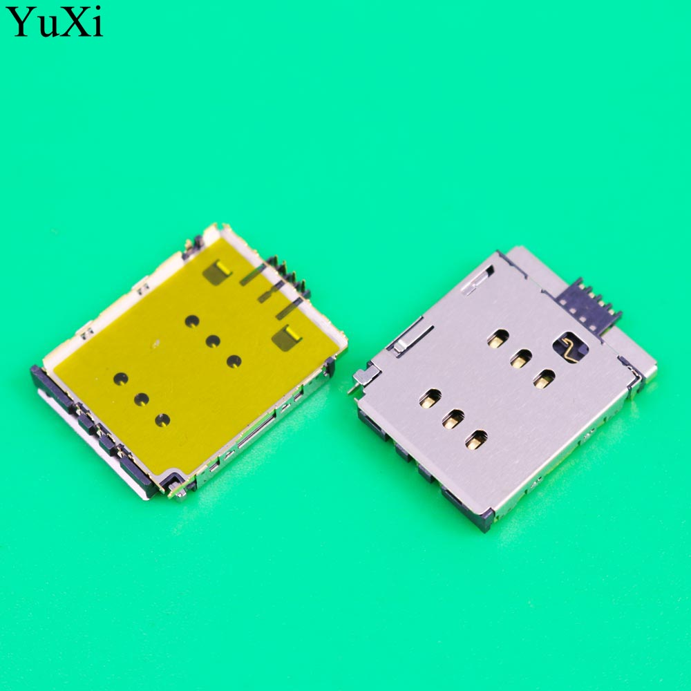 YuXi For IPhone X SIM Card Reader Connector Slot Holder Module Socket On Board