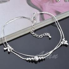 Fashion Jewelry Plated Silver Anklets Water Drop High Quality Ankle Bracelet Factory Price Fine Jewelry Anklet MDA021