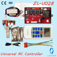 ZL U02B, Evrensel ac kontrol sistemi, ac denetleyici, Evrensel a/c kontrol sistemi, evrensel klima kontrolörü, Lilytech
