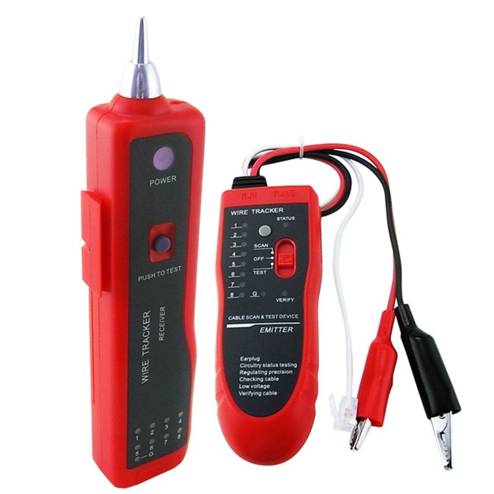 Testeur de câble réseau LAN RJ45 BNC détecteur de fil électrique traceur de téléphone pour les entreprises d'ingénierie