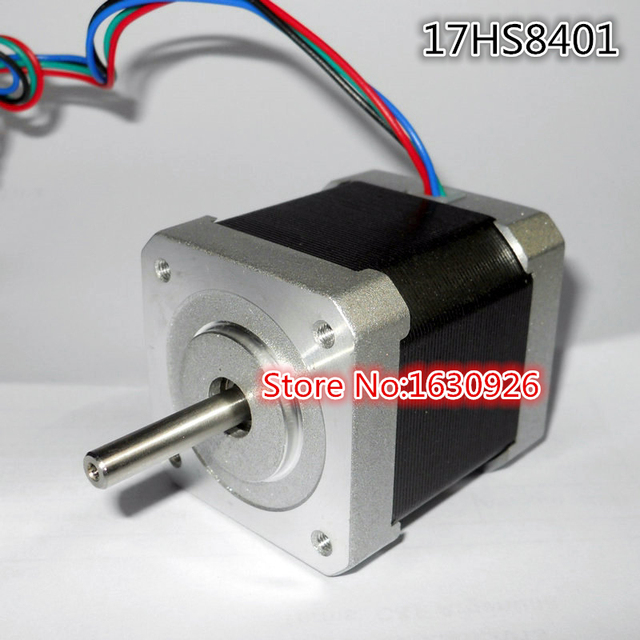 Free shipping 5 PCS 4-lead Nema 17 Stepper Motor 42 motor 17HS8401 1.8A CE CNC Laser and 3D printer