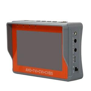 Image 2 - 4.3 بوصة المعصم CCTV تستر 1080P كاميرا صغيرة محمولة تستر AHD TVI CVI CVBS تستر TFT LCD التناظرية اختبار الفيديو 12 فولت انتاج الطاقة