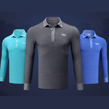 Brand New Mens Golf Full Sleeve T Shirt Soft stripe Comfort Breathable thick Warm Match Sport Jerseys Customize  Ayanway Store