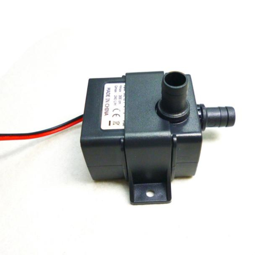 Black dc 12v 3m 240l h ultra quiet brushless motor for Rice pump and motor