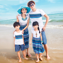 2017 roupas matching mother daughter clothes moleton father and son suits mom and daughter dress mae e filha camisetas casual