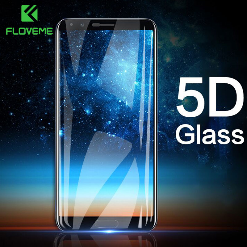 FLOVEME <font><b>5D</b></font> 9H Tempered <font><b>Glass</b></font> For <font><b>Huawei</b></font> P10 P20 Lite Mate 20 10 Lite Screen Protector For <font><b>Honor</b></font> <font><b>9</b></font> Lite 10 Protective <font><b>Glass</b></font> Film image