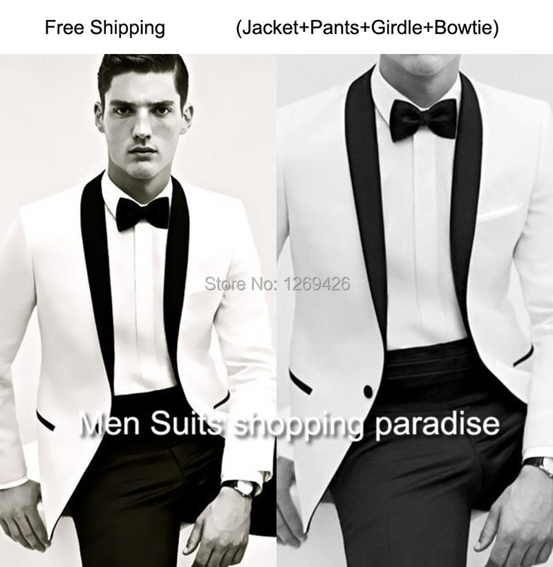 Aliexpress.com : Buy New 2015 Excellent suits Light gray Groom ...