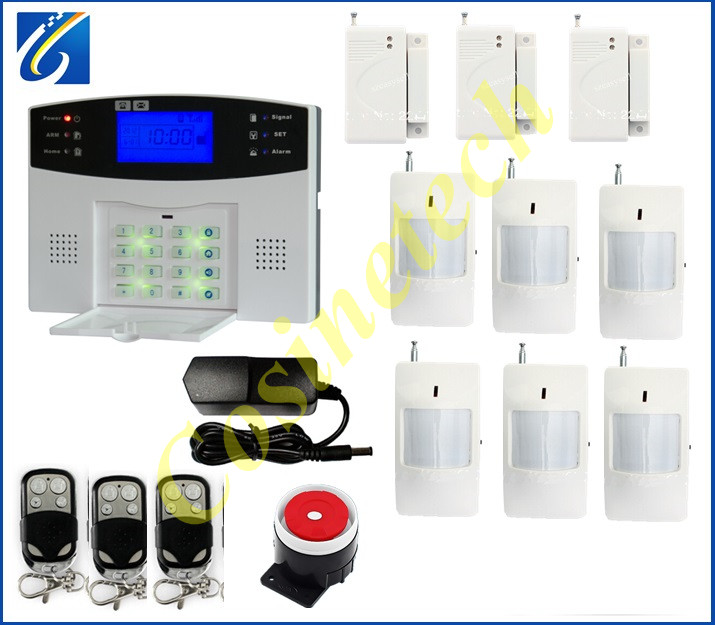 Hot sales Cheap alarm auto-dial SMS voice home security alarm system with multi-language for selection gsm alarm system hot sales lcd display wireless wired sms gsm alarm system auto dial gsm 850 900 1800 1900mhz home security gsm alarm system