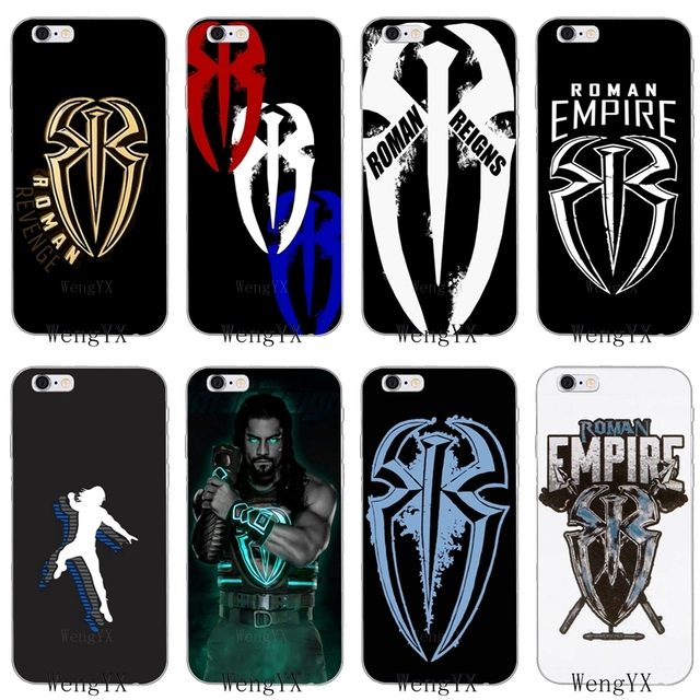 roman reigns logo spider wrestling soft case for huawei honor 4c 5c