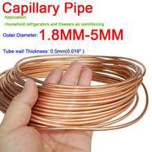 5pcs 304 Stainless Steel Capillary Tube Mayitr Silver Tubes 3mm OD 2mm ID 250mm
