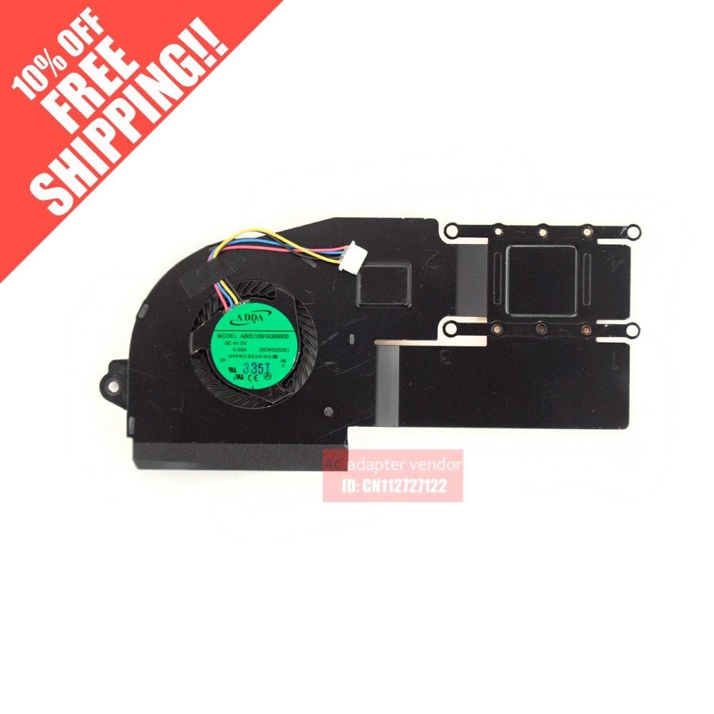 FOR Asus X201 S200E X201E X202E fan heatsink module for asus u46e heatsink cooling fan cooler
