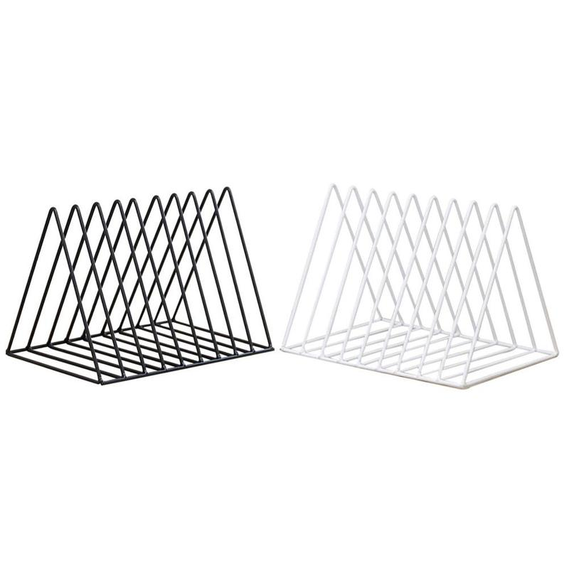 Estilo nórdico diseño geométrico oro hierro arte estantería ...