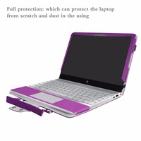 Accurately Designed Protective PU Leather Cover + Portable Carrying Bag For 13.3 HP ENVY 13 13 ad000 Series Laptop