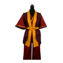 Anime Avatar The Last Airbender Prince Zuko Cosplay Costume Custom Made Any Size