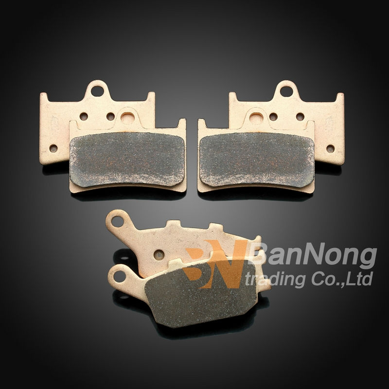 ФОТО Free shipping Motorcycle Metal Front Rear Brake Pads For Yamaha YZF-R6 2004-05-06-2007