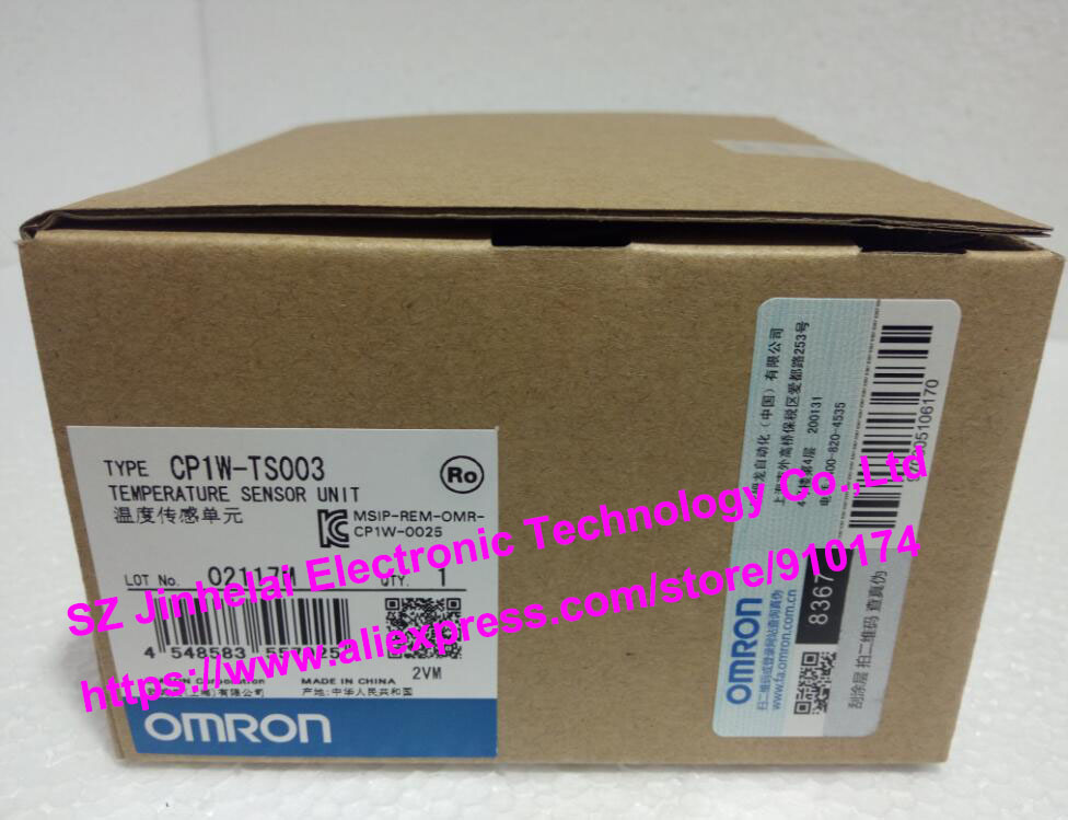 New and original CP1W-TS003 OMRON PLC Temperature sensor unit цена