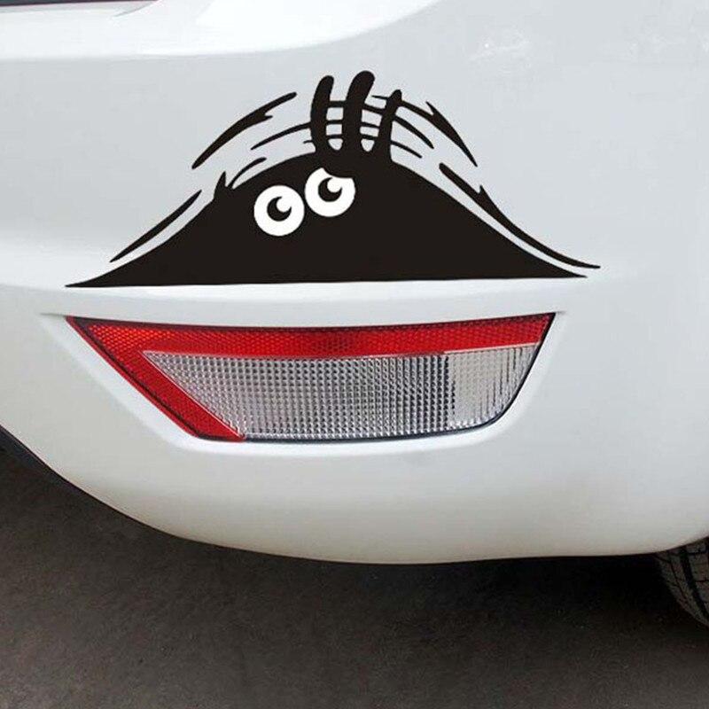 Car Stickers Funny Peeking Monster Auto Cars Walls Windows