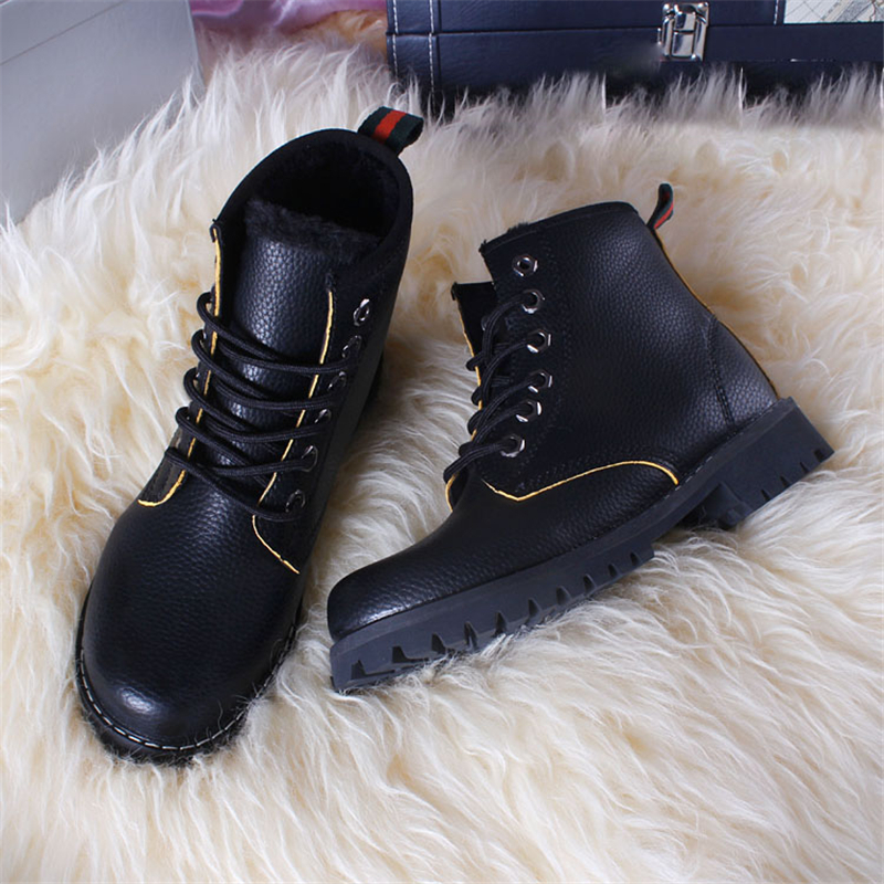 ФОТО  boots shoes woman lace up zapatos mujer winter white black  thigh high ugs rain  high top  white shoes ankle boots