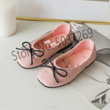 2019 spring autumn princess cute girl shoes fashion casual party solid bow kid children flat shoe size 26-30 white pink black bakkotie 2018 spring new fashion baby girl patent leather bow red flat child rhinestone princess party shoe kid brand mary jane