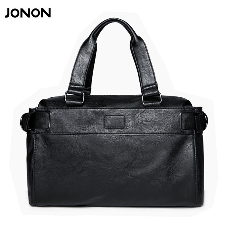 Jonon Men bag men messenger bags mens leather big size shoulder bag designer brand high quality men's travel bags high quality jonon luxury brand designer messenger bag women 100