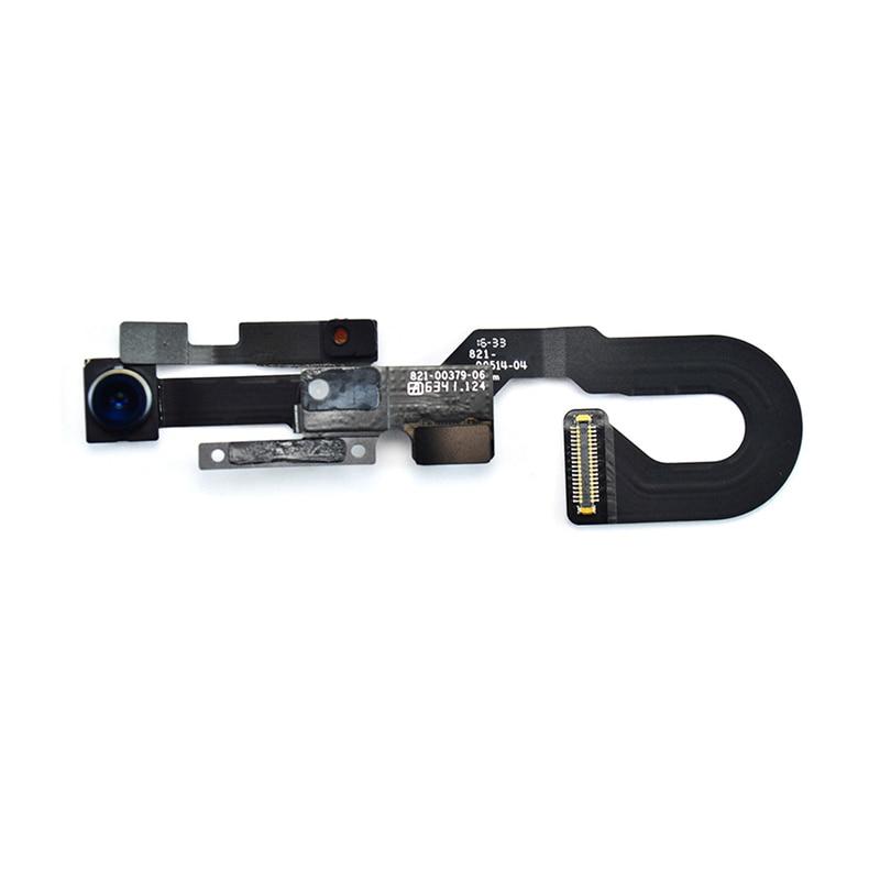 imágenes para Venta caliente Cámara de La Cara Frontal Con Movimiento de Proximidad Sensor de Luz Cable Flexible Para el iphone 7 7, Además de piezas de Repuesto