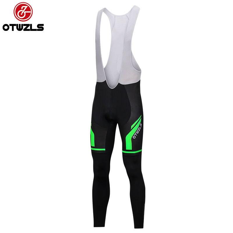 OTWZLS Bike pants Women Cycling pants Riding Black MTB Gel Padded Pants Tight Bicycle long clothing Girl Cycling wear trouser