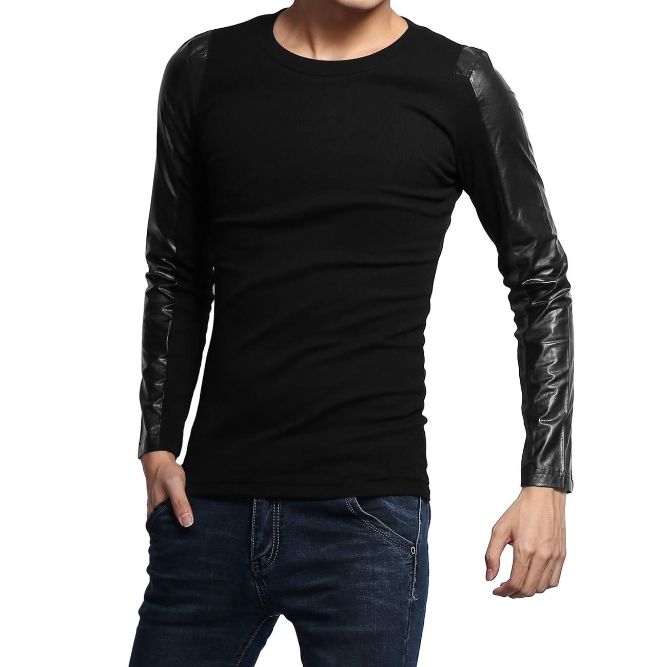 Aliexpress.com : Buy 2017 NEW Mens Fashion Long Sleeve T Shirts ...
