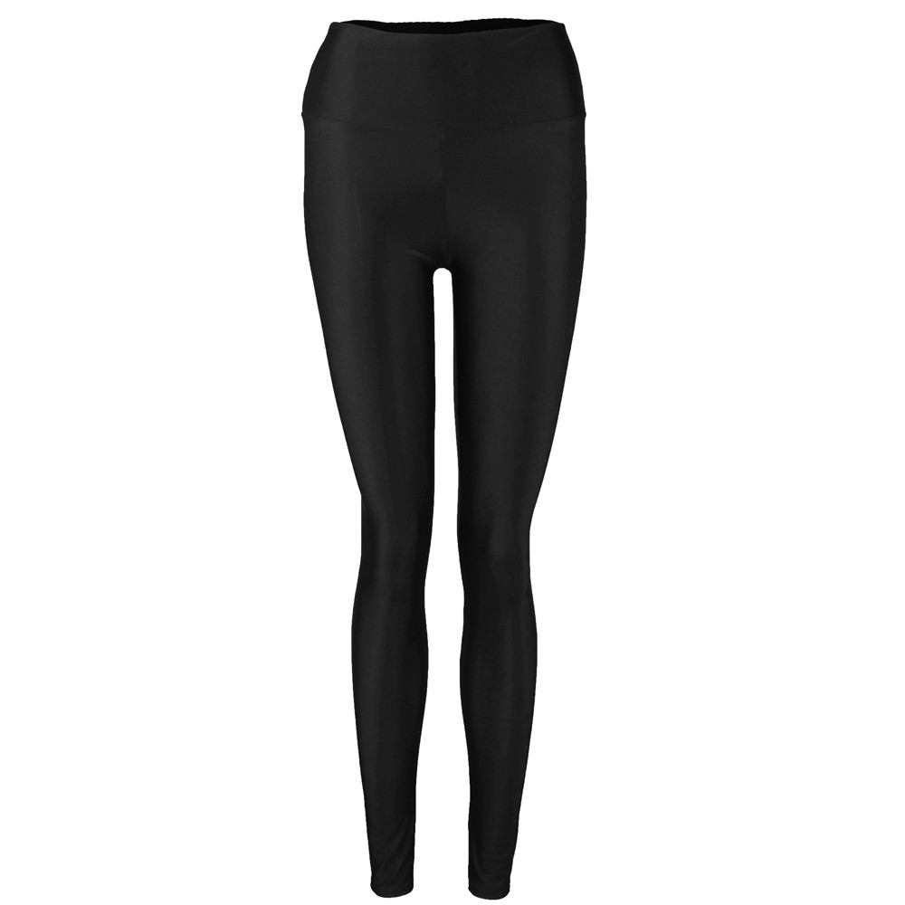 JAYCOSIN High Waist  Women Shiny Stretchy Candy Dance Ladies Womens Pants New Arrival 2019 Colors Leggings Pants Fitted
