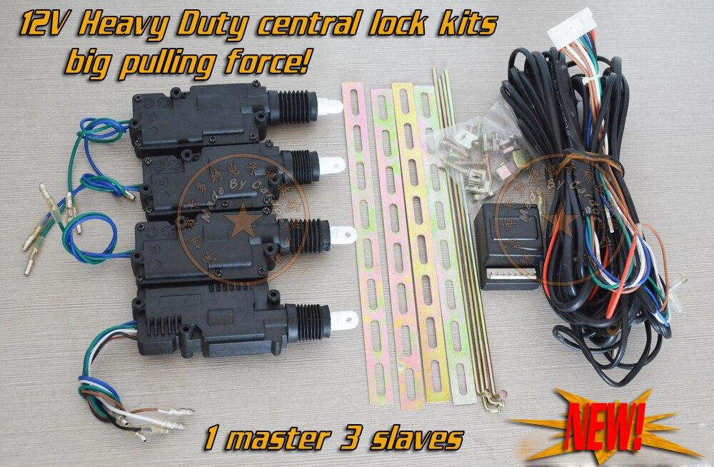 Remote Central Locking Kit Wiring Diagram - Somurich