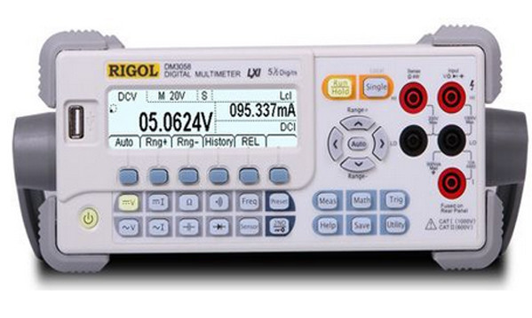 Fast arrival Rigol DM3058E DCV True RMS 5 1/2 240K Counts Bench Digital Multimeter DMM V/A Ohm Cap. Fre. Period USB