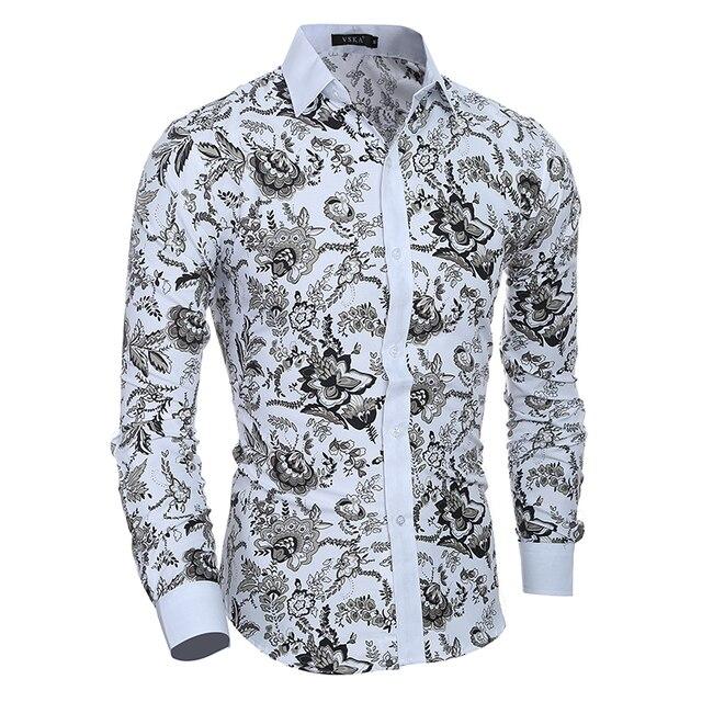 Heren Slim Fit Overhemd.Mannelijke Jurk Shirts Dress Shirts Heren Slim Fit Heren Overhemd