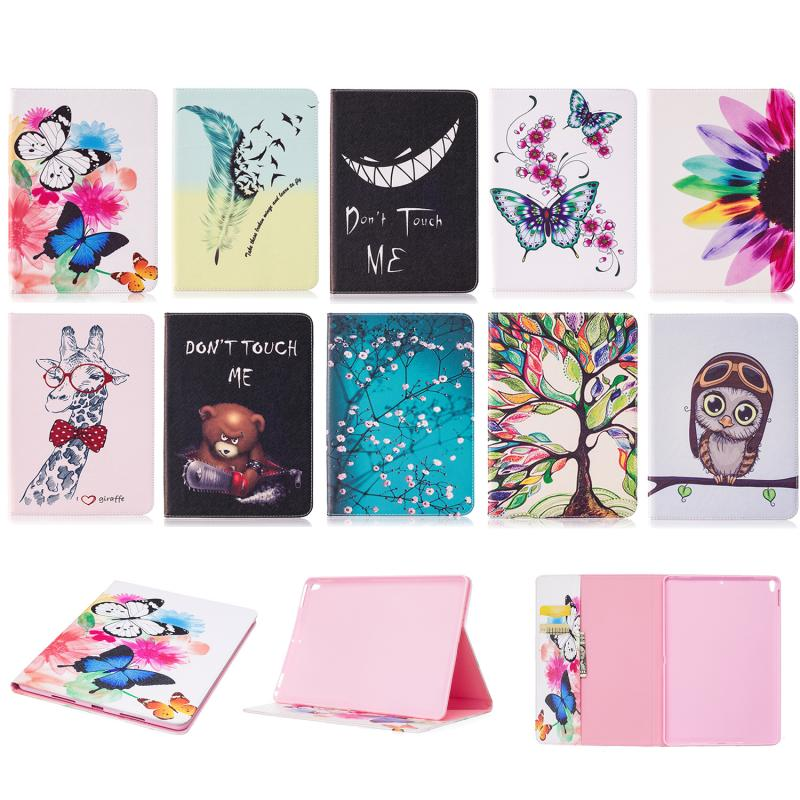 "Hospitable Tablet Case Cover For Apple Ipad Pro 10.5"" 2017 Cover Stand Holder Cute Pu Leather Wallet Case Card Slot Case Coque Etui Funda"