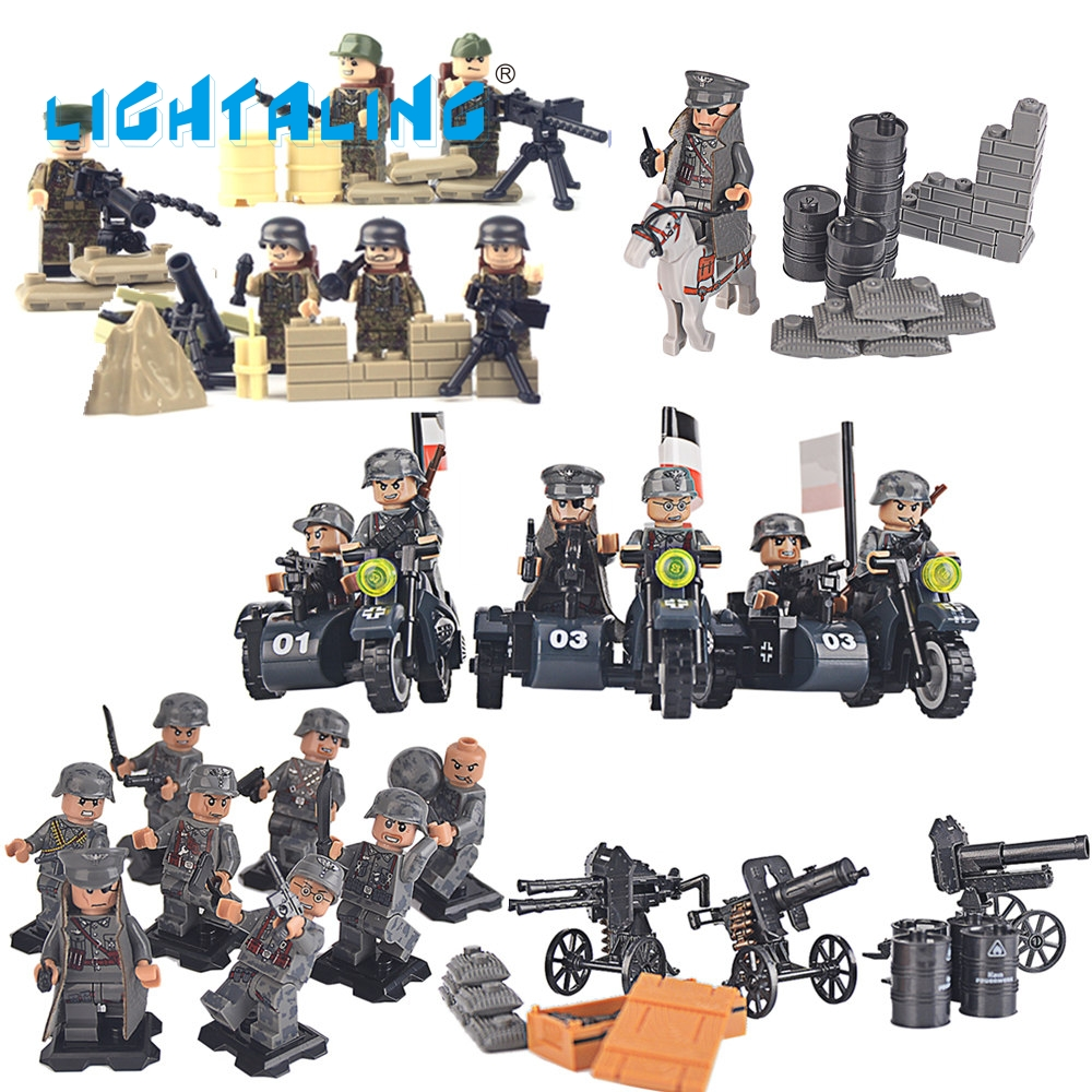 Lightaling Army SWAT Military Figures & Weapon Special Force Kid Toy Gift Building Blocks Brick автомагнитола swat mex 3006ubb