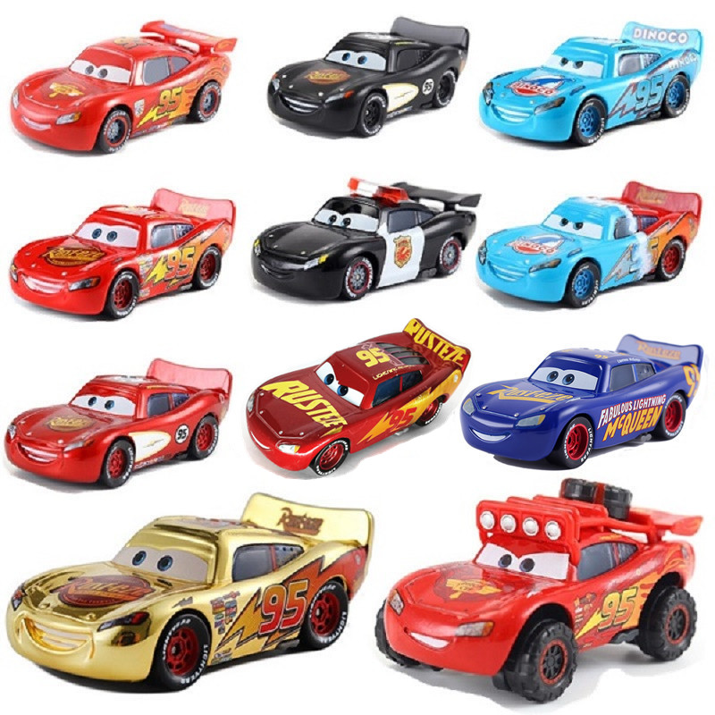 New Disney Pixar Car 3 Toy Car McQueen Family 39 Models 1:55 Die-cast Metal Alloy Model Toy Car 2 Boys Birthday Christmas Gift