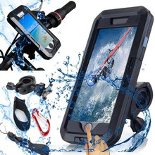 Motorcycle Support Phone Holder Waterproof Case 360 Rotation Holder for iPhone XS 11 Pro Max XR 5 6 7 8 Plus Phone Stand Bicycle