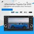 6.5 Polegada Tela Sensível Ao Toque de Áudio Do Carro De Vídeo DVD Sintonizador de Rádio USB MP3 Player Para Toyota Corolla Camry RAV4 Hiace Kluger Yaris