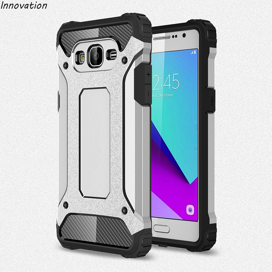 Innovation Phone Cases For Samsung Galaxy J2 Prime 2016 Case 5.0 inch TPU & PC Dual Armo ...