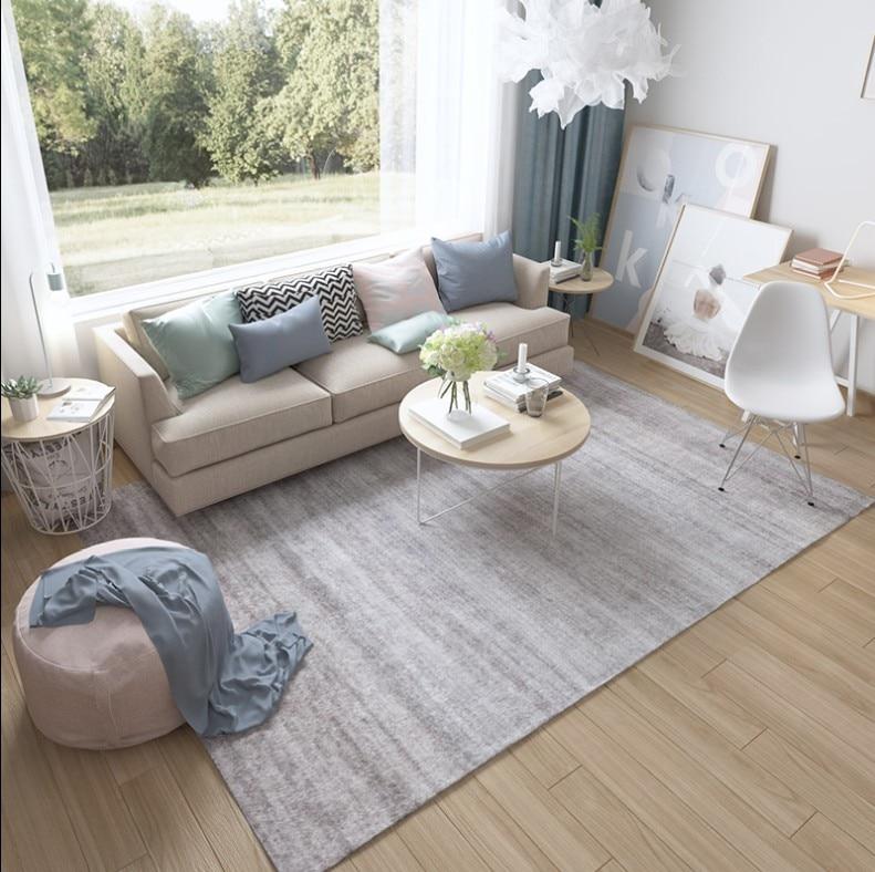 INS nordique Simple tapis pour salon maison chambre tapis tapis mode musique tapis de sol Table basse zone tapis velours doux