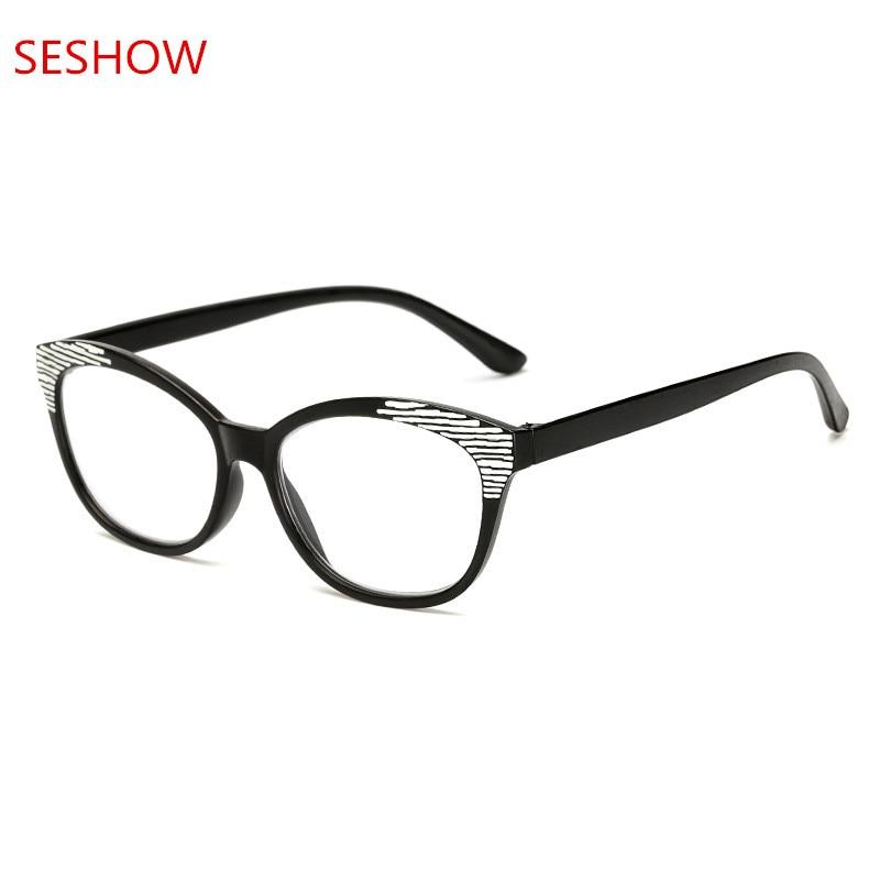 Unga, läsglasögon, herr- och herrspetslätta plana spegel, snygg - Kläder tillbehör