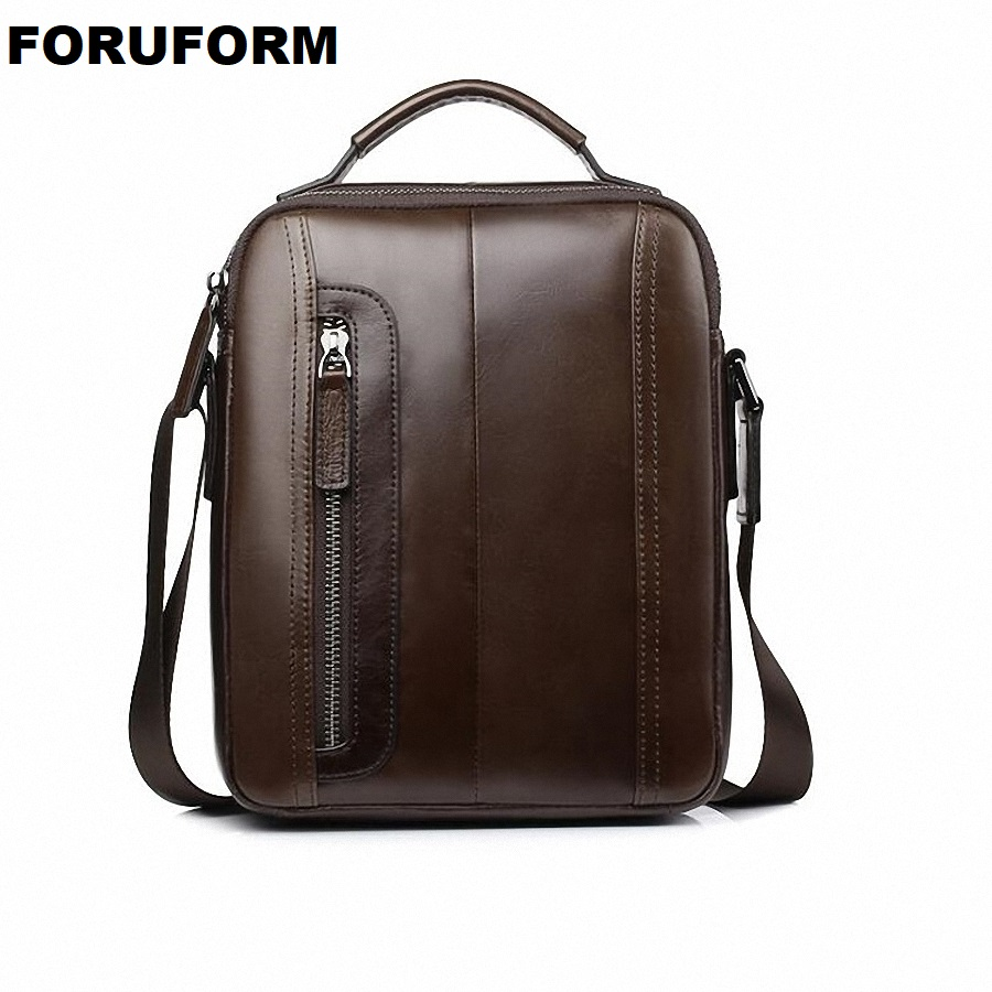 7ba2fc94ad Designers Brand Men s Small Messenger Bags Genuine Leather Vintage Mens  Handbag Man Crossbody Bag for Men