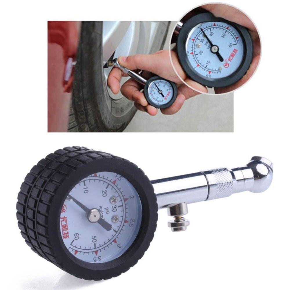Newest Arrive Car Vehicle Automobile Tire Air Pressure Gauge 0-60 Psi Dial Meter