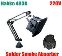 220V High Quailty Hakko 493B Solder Smoke Absorber ESD Fume Extractor Activated Carbon Filter Sponge
