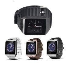 Купить Dz09 Bluetooth Smart часы relogios SmartWatch TF sim-карты Камера для iphone Samsung Huawei телефона Android PK Y1 Q18 gt08 a1 V8