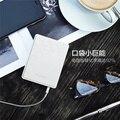 Besiter 2 Порта USB Ультра Тонкий Внешняя Батарея Резервного Копирования 10400 мАч Портативный Мобильный Банк Питания Зарядное Устройство Большой Емкости для Мобильных Телефонов