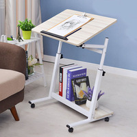 Simple Tilt Notebook Computer Table Bed With Mobile Home Bed Desk Lazy Table